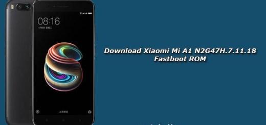 Download Xiaomi Mi A1 N2G47H.7.11.18 Fastboot ROM