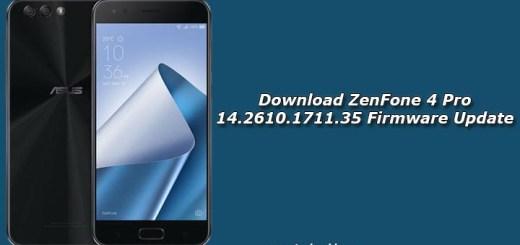 Download ZenFone 4 Pro 14.2610.1711.35 Firmware Update