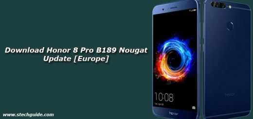 Download Honor 8 Pro B189 Nougat Update [Europe]