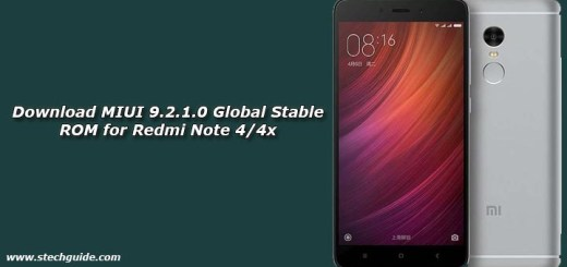 Download MIUI 9.2.1.0 Global Stable ROM for Redmi Note 4/4x