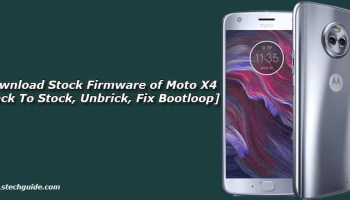 Download Stock Firmware of Moto G5 [Back To Stock, Unbrick