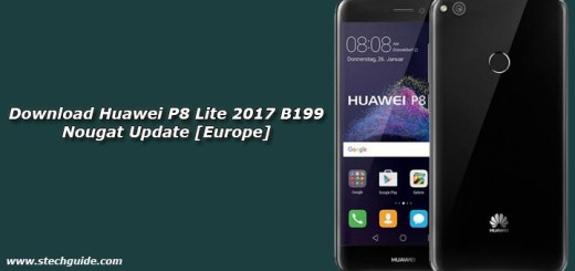 Download Huawei P8 Lite 2017 B199 Nougat Update [Europe]