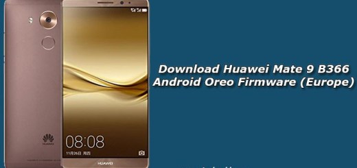 Download Huawei Mate 9 B366 Android Oreo Firmware (Europe)