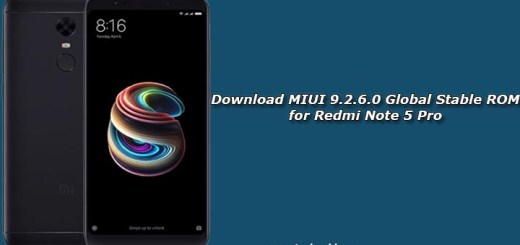 Download MIUI 9.2.6.0 Global Stable ROM for Redmi Note 5 Pro