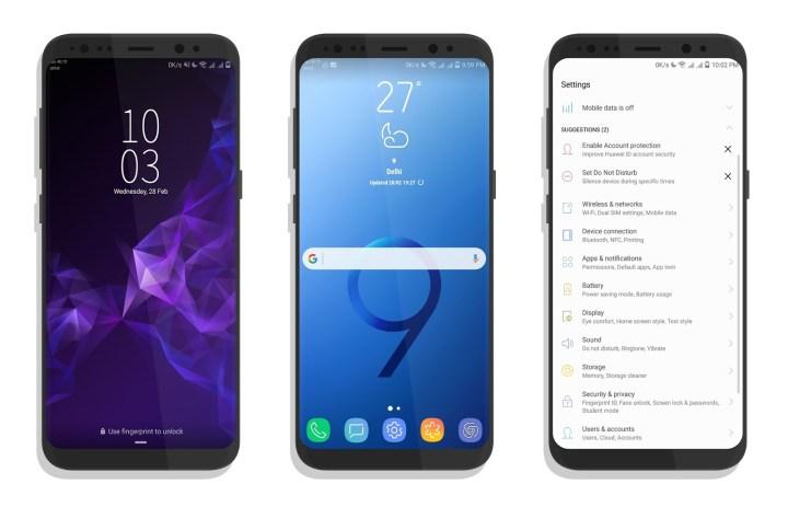 Galaxy S9 theme