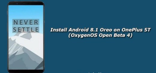 Install Android 8.1 Oreo on OnePlus 5T (OxygenOS Open Beta 4)