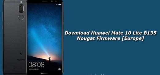 Download Huawei Mate 10 Lite B135 Nougat Firmware [Europe]