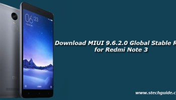 Download MIUI 9 6 2 0 Global Stable ROM for Redmi Note 4/4x