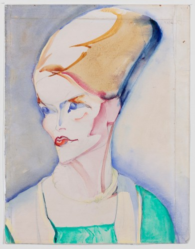 Alida Pott, Portrait of a young woman, 1921, Groninger Museum