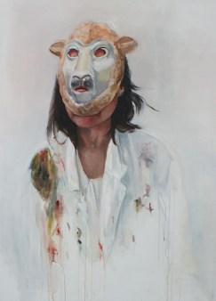 Eline Peek, Hide and sheep, 2015