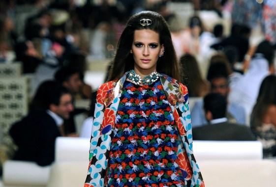 Ontwerp van Karl Lagerfeld voor Chanel, 2015