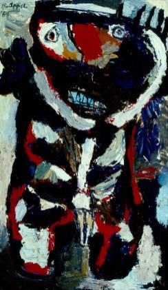 Karel Appel, De Wilde jongen, 1954, collectie Stedelijk Museum Schiedam