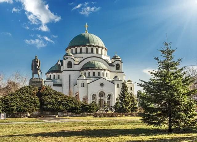 Belgrado St Sava Cathedral