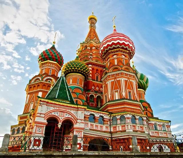 Moskou - Basilius cathedral