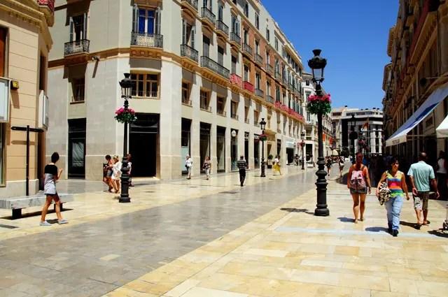 Malaga Calle Larios