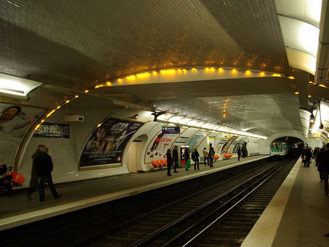 Metro-station-Parijs