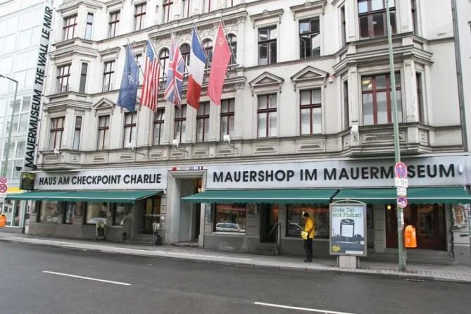 Berlijn Mauermuseum