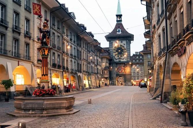 Bern oude stad