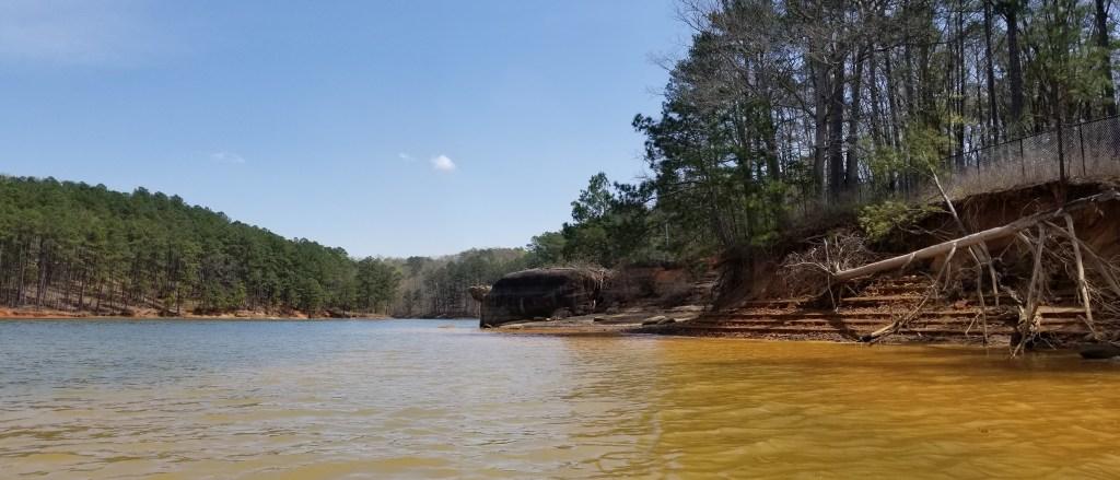 ste-do-cli-and-G-see-turtle-rock-lake-alatoona-ga