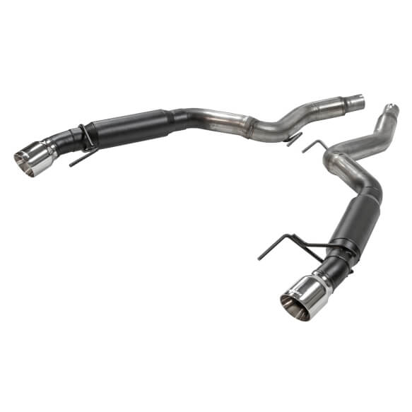 flowmaster 817713 mustang v6 ecoboost outlaw axle back exhaust system 15 21
