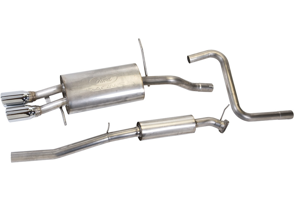 ford performance fiesta cat back exhaust 11 14 discontinued 161 m 5230 fac steeda