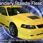 Legendary Steeda Fleet Sale