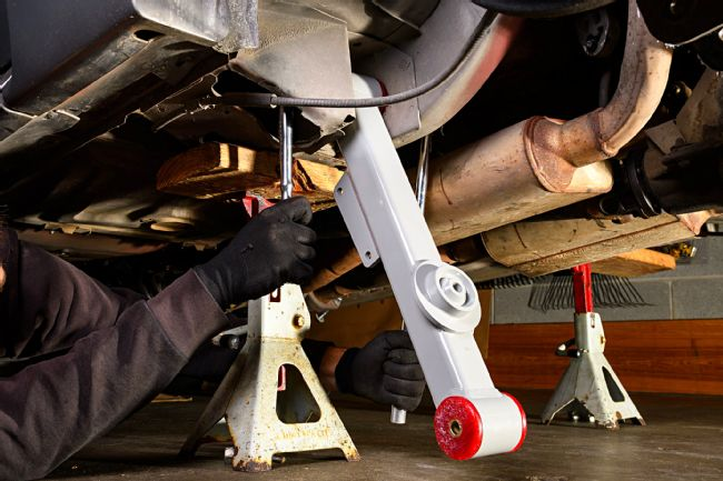 Steeda Aluminum Rear Control Arms Upgrade for Fox-body