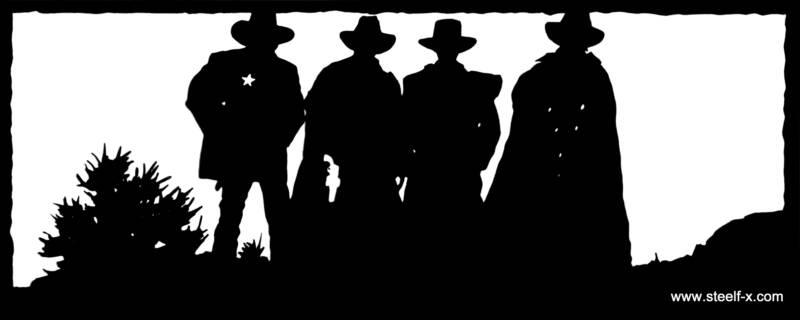 Cowboy Art Clip Silhouette