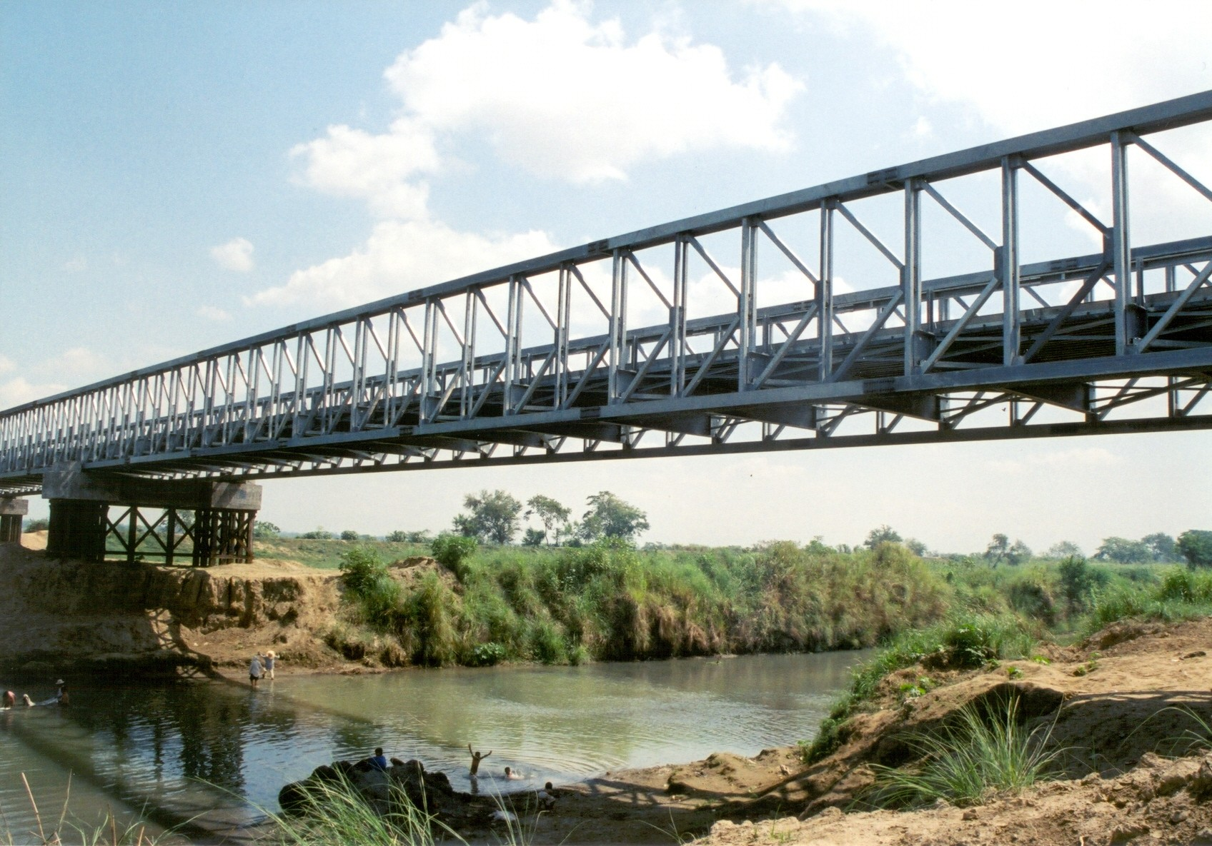 Professional Steel Structure Bridge Cantilever Truss