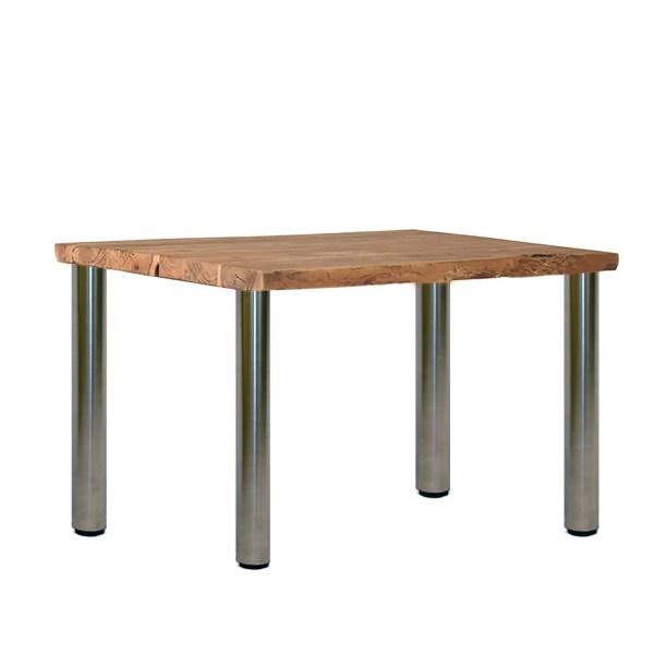Beispiel Steelando Tischbeine an Holzplatte