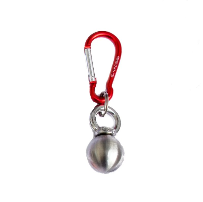 Steelando Schlüsselanhänger rot