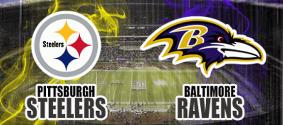 Image result for Steelers vs. Ravens