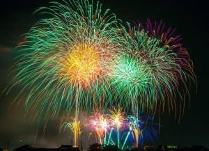 fireworks color