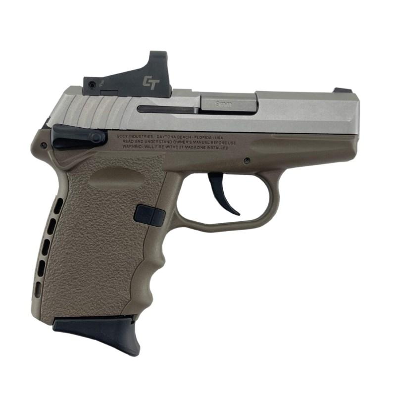 SCCY CPX-1 9MM Pistol CPX-1TTDERD - FDE
