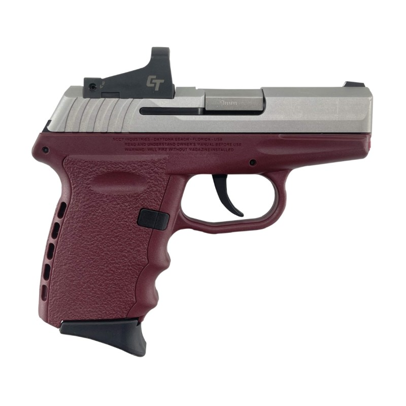 SCCY CPX-2 9MM Pistol CPX-2TTCRRD - CrimsonStainless