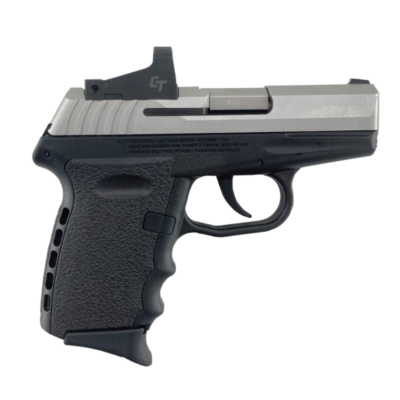 SCCY CPX-2 9MM Pistol CPX-2TTRDDE - Black Stainless