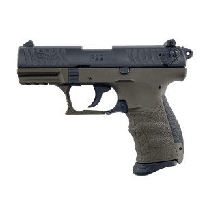Walther P22 Q Military OD Green .22LR
