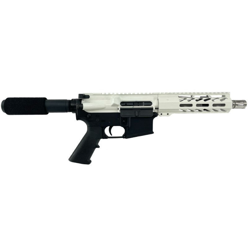 "Matrix Arms .223 Wylde 7.5"" AR-15 Pistol - White"