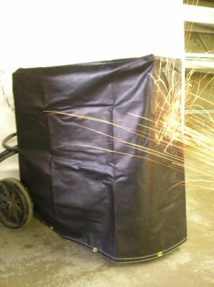 Custom Industrial Machine Cover