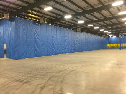 Industrial Thermal Curtains - Folding