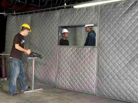 Sound-blocking Panels