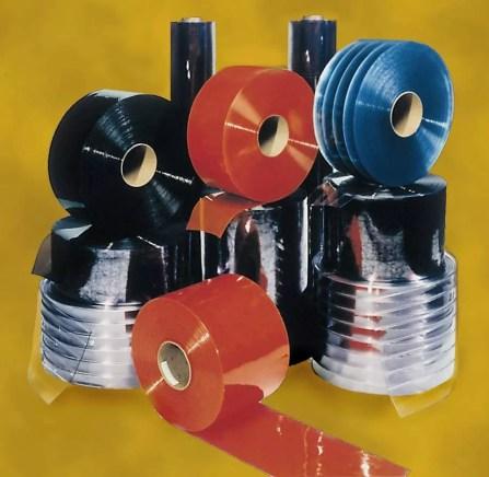 Assorted PVC Strip Curtain Bulk Rolls
