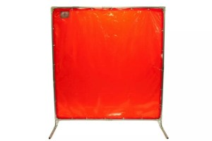 Welding screens can maintain facility safety by protecting workers from welding arc and flashes.