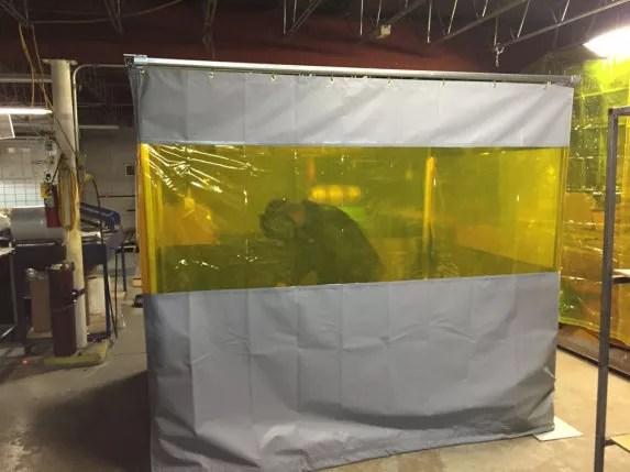 Welding Cells Grind Amp Weld Work Enclosure Barrier Systems