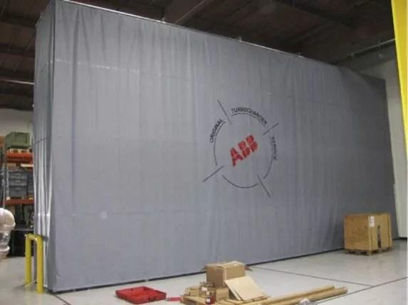 Steel Scrim Vinyl curtains