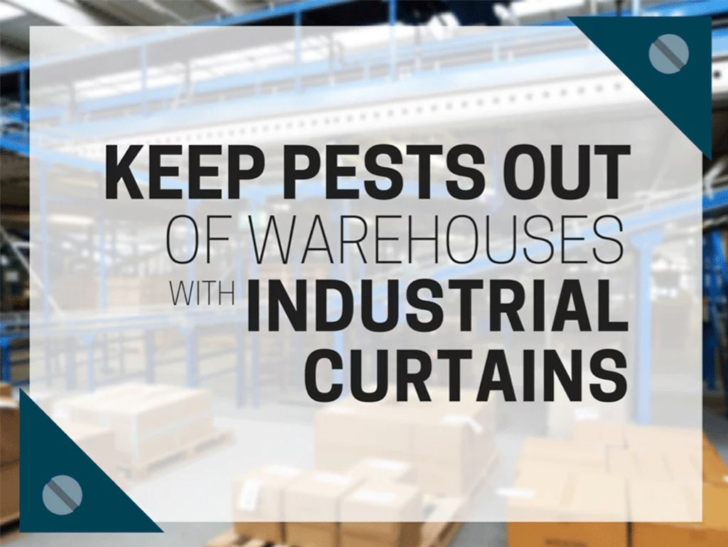 keep pests out of warehouse