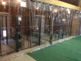 Custom Industrial Curtain in Animal Hospital