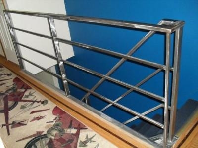Fabricator Ny Pipe Tubular Steel Hand Railing Stair Railings | Tubular Stair Railings Design | Simple | Grill Work | Residential Industrial Stair | Welded | Stair Case Railing
