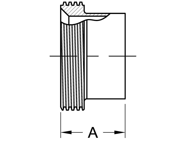 L15a7 Tube Ferrule Threaded