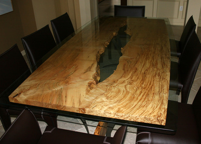 Dining Tables Steel Root Furniture Modern Wood And